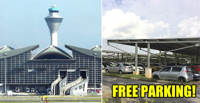 Drivers Waiting for Passengers at Airports to Use Free Parking, or Risk Getting Fined RM300 - WORLD OF BUZZ