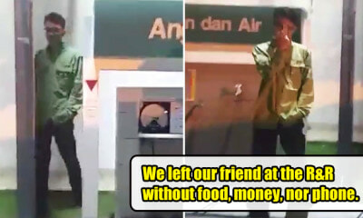 M'sian Hilariously Left Behind at R&R, Friends Only Realise After 100km - WORLD OF BUZZ