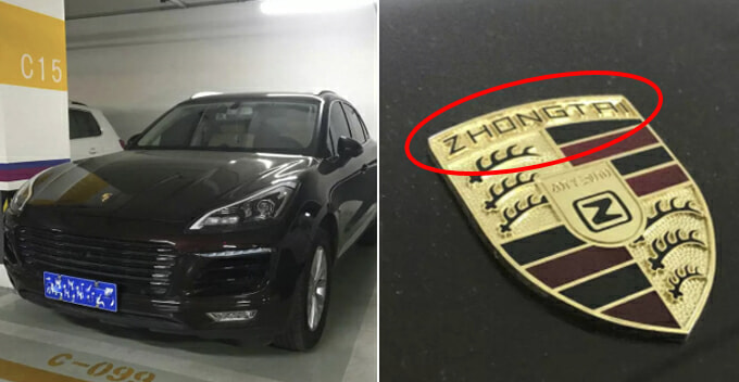 Lady Dumps Bf After Discovering His Porsche Cayenne Is Actually a China-Made Clone - WORLD OF BUZZ
