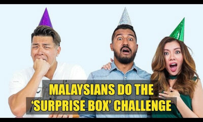 Malaysians Do The 'Surprise Box' Challenge - WORLD OF BUZZ
