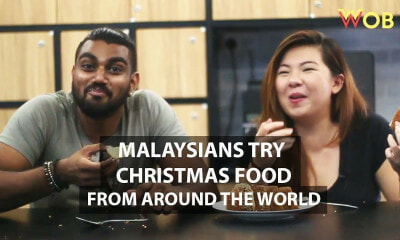 Malaysians Try Christmas Food from Around The World - WORLD OF BUZZ