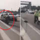 Man Drives Against Traffic on NPE in Viral Video, Even Ignores Police Warning to Stop - WORLD OF BUZZ 3