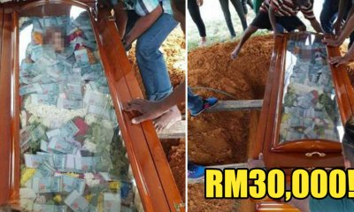 Man Sends Off Deceased Father With RM30,000 In Coffin - WORLD OF BUZZ 1