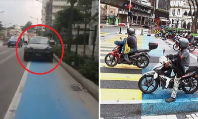 M'sian Cyclist Laments Condition Of Kl New Bicycle Lane As People Misuse It - World Of Buzz 7