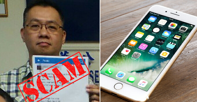 M'sian Man Thought He Landed Cheap iPhone Online, Turns Out to be a Scam - WORLD OF BUZZ