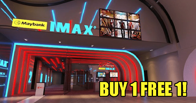 M'sians Can Enjoy Buy 1 Free 1 Imax Movies With Free Popcorn At Tgv Until Feb 4! - World Of Buzz 2