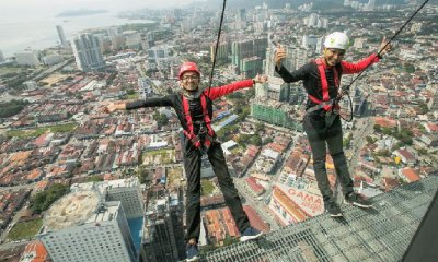 New World's Highest Rope Course Challenge Opening in Penang in Feb 2018! - WORLD OF BUZZ 2