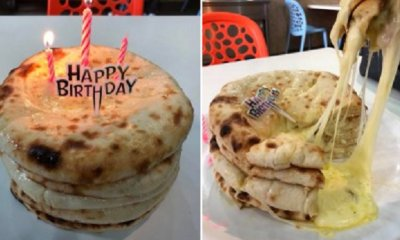 There's A New Birthday Cake In Town, And It's Called The Cheese Naan Birthday Cake - WORLD OF BUZZ 1