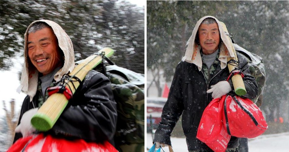 This Man Walked 40km To Save Money To Buy New Clothes For Wife - WORLD OF BUZZ 3