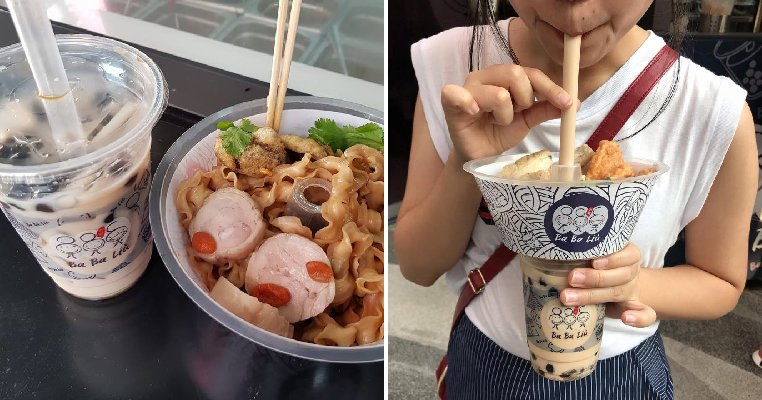 This Stall In Bangkok Lets You Eat Your Food And Drink With One Hand! - World Of Buzz 5