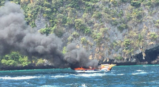 Tourist Speedboat Explodes in Krabi, One Victim Dead and Many Injured - WORLD OF BUZZ 1