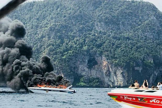 Tourist Speedboat Explodes in Krabi, One Victim Dead and Many Injured - WORLD OF BUZZ 3