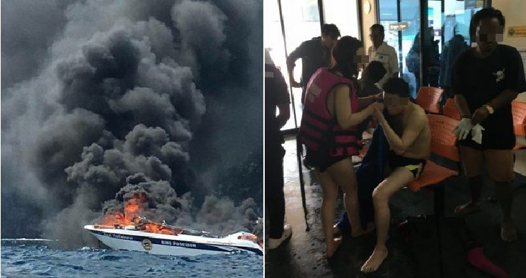 Tourist Speedboat Shockingly Explodes in Krabi, One Victim Dead and Many Injured - WORLD OF BUZZ