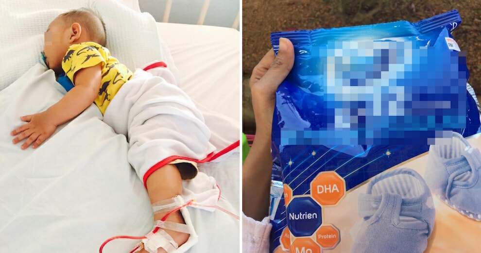3yo Malaysian Toddler Falls Seriously Ill After Drinking A Supermarket Milk Product - WORLD OF BUZZ 1