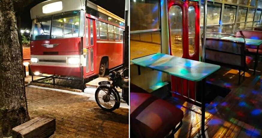 M'sians Can Take a Walk Down Memory Lane at This New NightBus 127 Restaurant - WORLD OF BUZZ