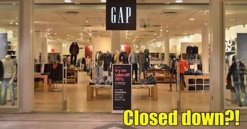 American Clothing Retailer GAP is Shutting Down All Stores in Malaysia - WORLD OF BUZZ