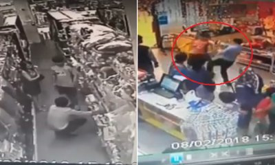 Brave Son Saves Mother From Pervert Taking Upskirt Photos in Mr DIY - WORLD OF BUZZ 4