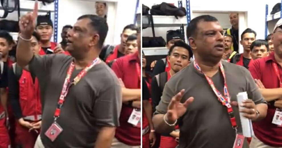 """Don't Throw The Bags Anymore, Kiss The Bags,"" Tony Fernandes Tells AirAsia Staff - WORLD OF BUZZ 5"