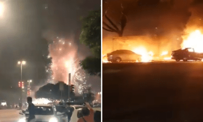 Fireworks Stall at Kepong Baru Accidentally Set on Fire, Causes Mayhem - WORLD OF BUZZ 5