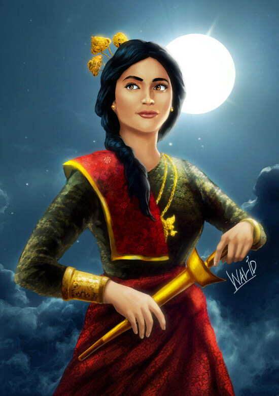 Forget Disney Princesses, Here Are The Puteri of Malaysian Folklore You Should Know About - Part 1 - WORLD OF BUZZ 4