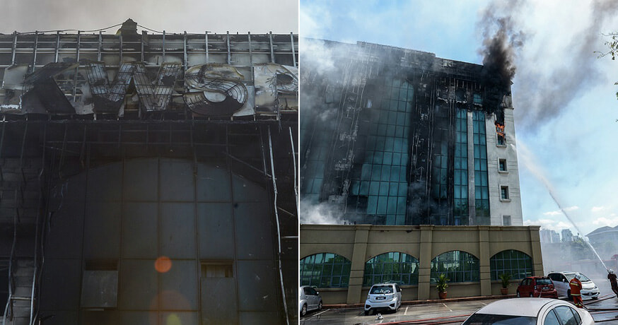 Here's The Cause Of The EPF Building Fire - WORLD OF BUZZ 1