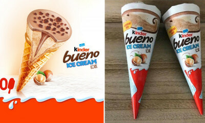 Kinder Bueno Ice Creams Are A Real Thing Now - WORLD OF BUZZ