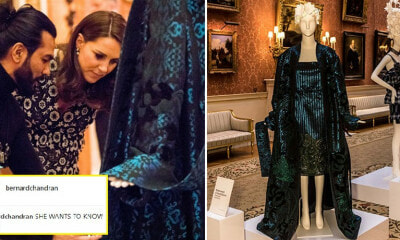 Local Fashion Designer Dato' Sri Bernard Chandran Presents Designs at Buckingham Palace - WORLD OF BUZZ 2