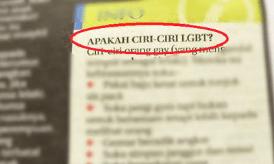 Local Newspaper Gets Massive Backlash After Publishing 'Traits' of LGBT - WORLD OF BUZZ 1