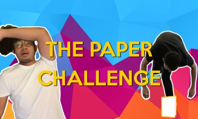 Malaysians Try The Paper Challenge - WORLD OF BUZZ
