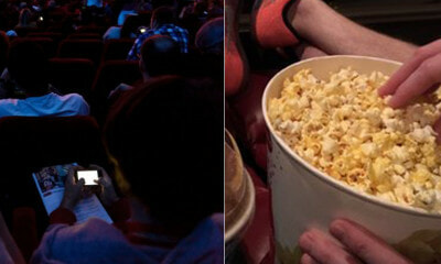 Man Dumps Popcorn Over Lady's Head In The Cinema - WORLD OF BUZZ 3