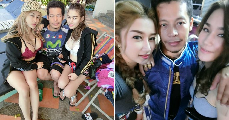 Man Living The Dream with Two Beautiful Wives Shares How He Keeps Them Happy - WORLD OF BUZZ 6