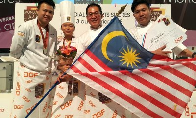 M'sian Chefs Clinch Second Place in One of World's Most Difficult Pastry Competition - WORLD OF BUZZ 3
