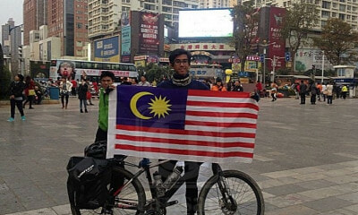 M'sian Who Cycled 3,200km to China Tragically Dies in Fatal Accident on PLUS - WORLD OF BUZZ 4