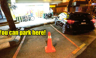 M'sians Can Actually Park Their Cars at Reserved Parking Bays After Business Hours - WORLD OF BUZZ