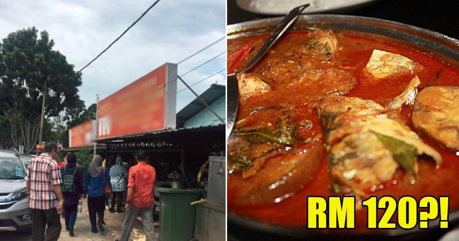 M'sians Got Charged RM120 For Lunch In This Famous Restaurant In Malacca - WORLD OF BUZZ