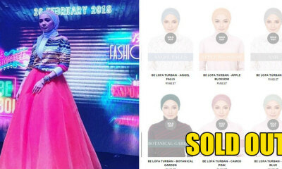 Neelofa's Latest Turban Collection Sells Out After Controversial Zouk Launch - WORLD OF BUZZ