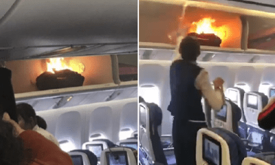 Power Bank on Plane Unexpectedly Catches Fire, Passengers Forced to Evacuate - WORLD OF BUZZ 3