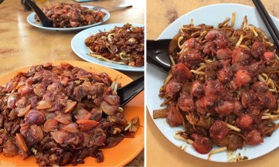 "Seremban Store Sells HUGE Portions of ""Si Ham"" in Char Koay Teow for Only RM8.50! - WORLD OF BUZZ 1"