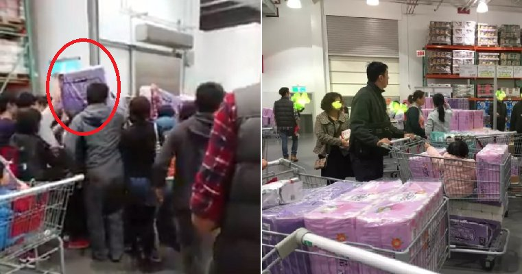 Taiwanese are Panicking Over Toilet Paper as Shops Run Out of Stock - WORLD OF BUZZ 6