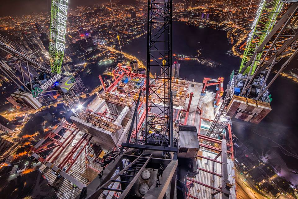 This Malaysian Photographer Just Climbed The Exchange 106 And Took Stunning Shots - WORLD OF BUZZ 3