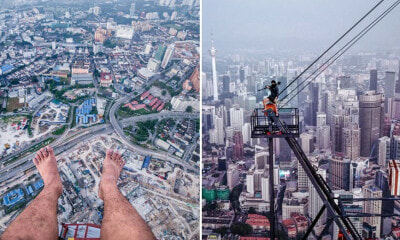 This M'sian Photographer Just Climbed The Exchange 106 And Took These Breathtaking Shots - WORLD OF BUZZ