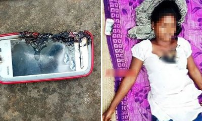 18yo Girl Died When Charging Mobile Phone Exploded While Chatting On It - WORLD OF BUZZ