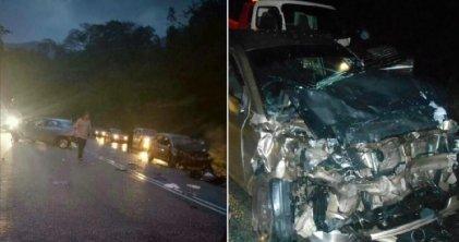 Baby on Father's Lap Killed in Seremban Accident After Getting Flung Out of Car - WORLD OF BUZZ 2