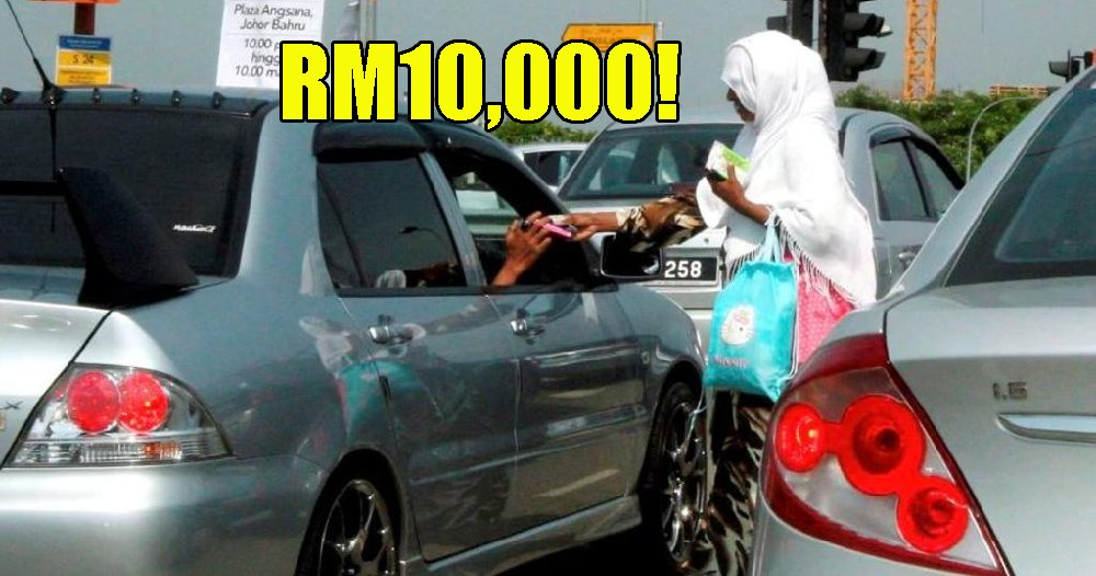Beggars in JB Discovered to Earn a Whopping RM10,000 a Month - WORLD OF BUZZ 3