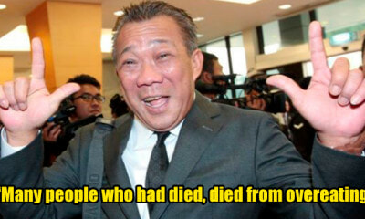 Bung Moktar: Obesity Related Deaths and Diseases Prove Malaysia is Prospering - WORLD OF BUZZ