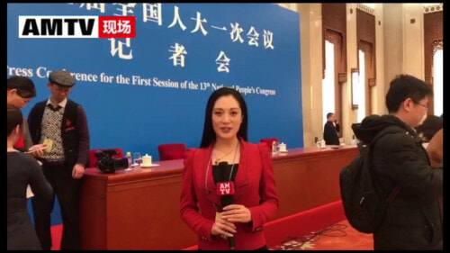 Chinese Reporter Steals The Show With An Epic Eye Roll In China's Annual Parliament Session - WORLD OF BUZZ
