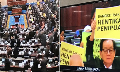 "Dewan Rakyat Officially Passes Redelineation Report, Opposition Chants ""Thieves"" in Response - WORLD OF BUZZ 2"