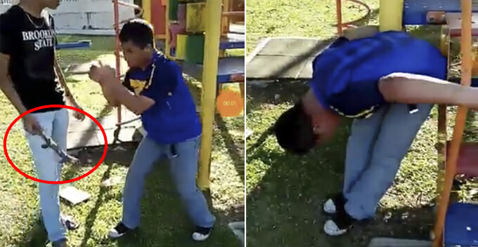 Disabled Boy Bullied at Playground and Robbed of His Phone and Money in Johor - WORLD OF BUZZ