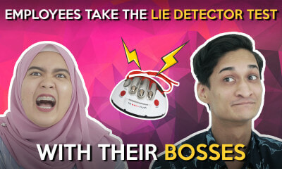 Employees Take the Lie Detector Test with their Bosses - WORLD OF BUZZ