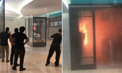 Fire Breaks Out at Watsons in IOI City Mall Putrajaya, 300 People Evacuated by Firemen - WORLD OF BUZZ